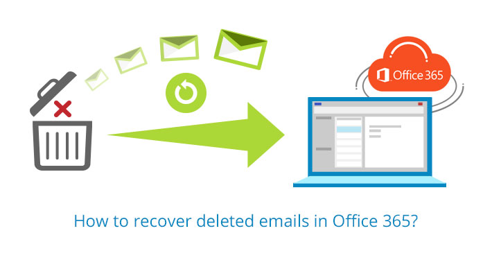 Recover deleted emails in Office 365.