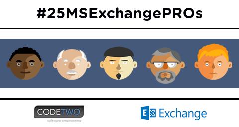 25+1 Microsoft Exchange Experts
