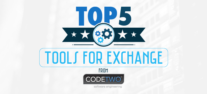 Find out which CodeTwo tools are the best for the Exchange server.