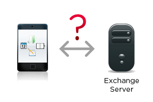 How to sync mobile devices with Exchange Server public folders