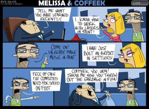 Melissa & Coffeek episode 12