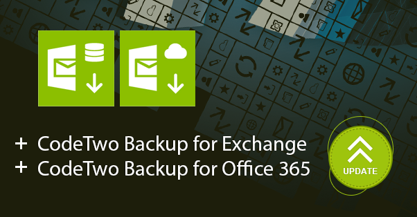 CodeTwo Backup software version 1.5 released!