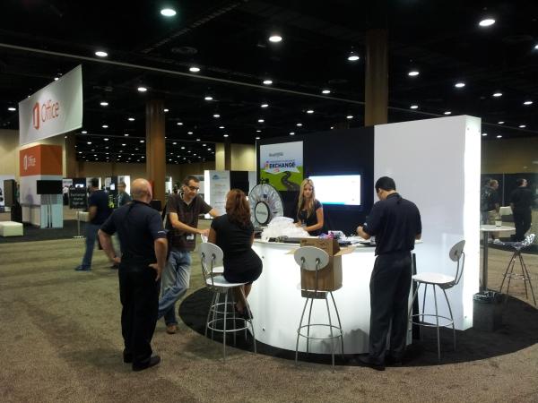 MEC 2012 - Exhibition Hall