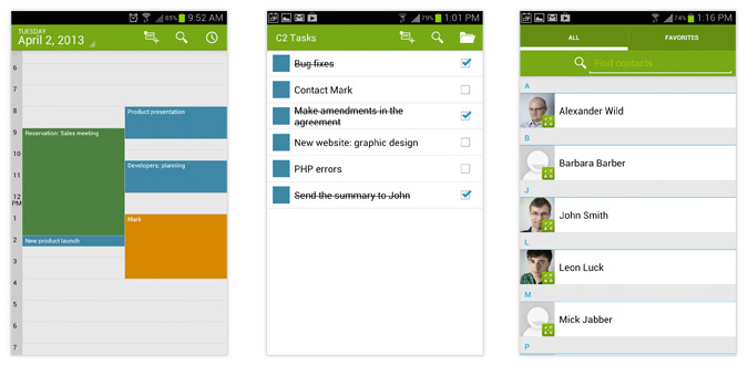 CodeTwo Public Folders Android apps