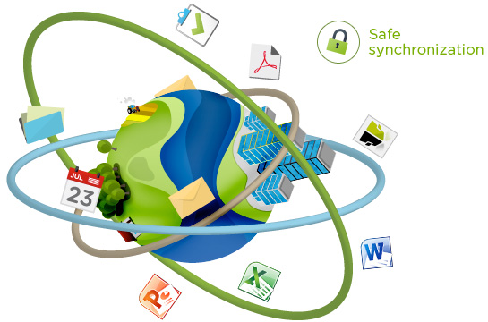 Safe synchronization of Outlook items