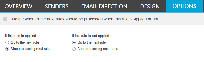 CodeTwo Email Signatures for Office 365 - Processing multiple rules per message