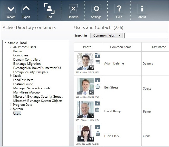 CodeTwo Active Directory Photos - dashboard.