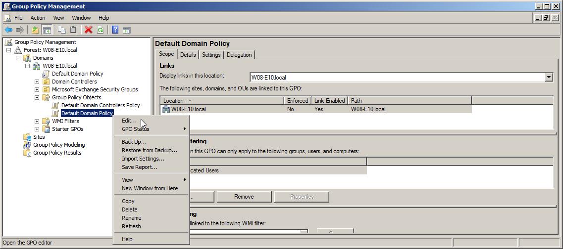 Vbscript on error resume next not working on getobject wmi