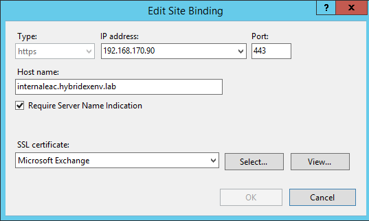 Set ip address to edit site binding