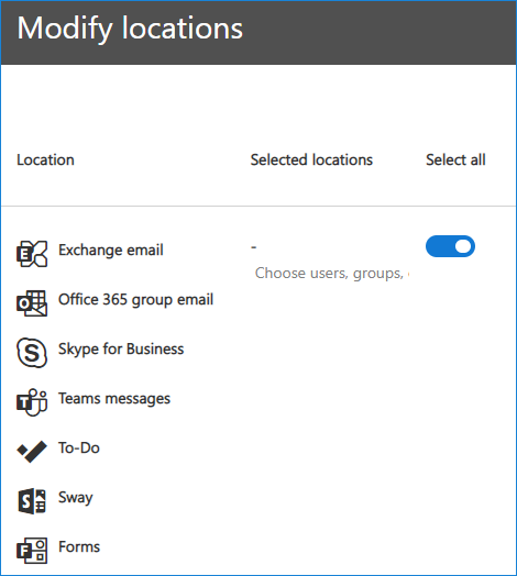 How to export Office 365 mailboxes to pst Select location