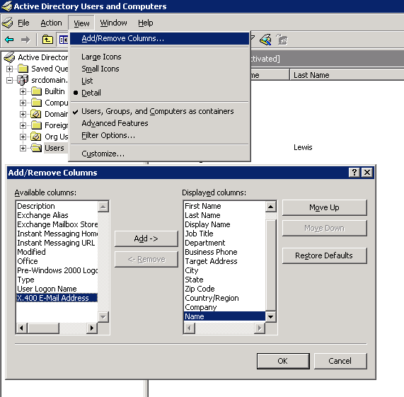 How to export users from Active Directory GUI 4