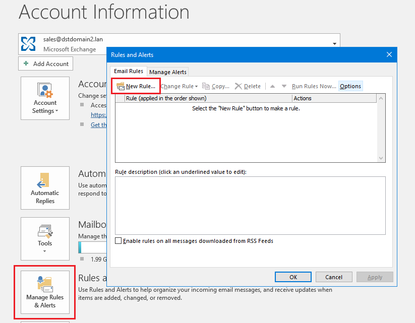 autoreply for distribution group 8 outlook new rule