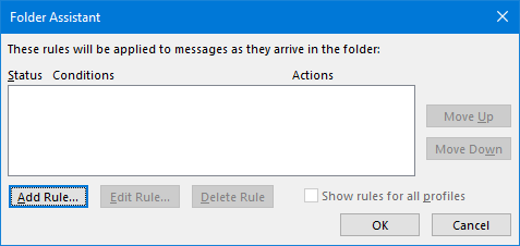 public folder auto reply 05 assistant add rule