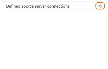 Define source server connection to Office 365 tenant