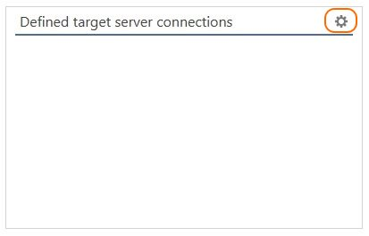 Define the target server connection to Office 365 tenant.