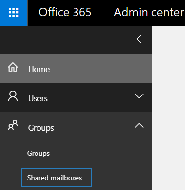 how to create shared mailbox in Office 365 1