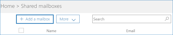 how to create shared mailbox in Office 365 2