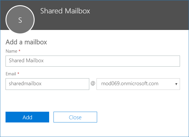 how to create shared mailbox in Office 365 3