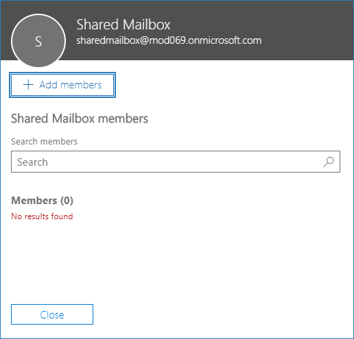 how to create shared mailbox in Office 365 6