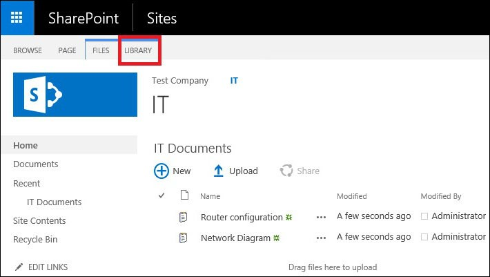 Exchange 2016 and Sharepoint integration library