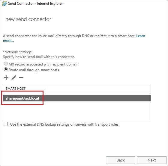 Exchange 2016 and Sharepoint integration 30