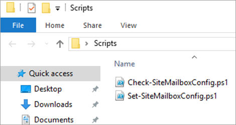 SharePoint and Exchange integration - site mailbox 19