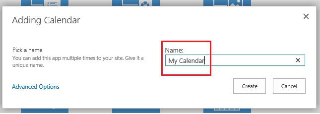 SharePoint and Exchange integration - calendar overlay 4