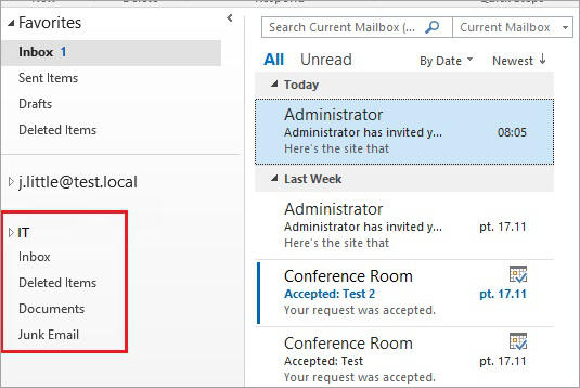 SharePoint and Exchange integration - create site mailbox 6