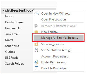 SharePoint and Exchange integration - create site mailbox 7