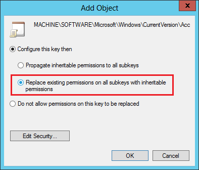 How to use Active Directory user photos in Windows 10 - Configuring additional permission options