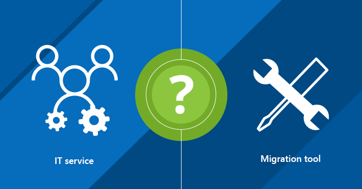 Exchange migration services vs. exchange migration tools