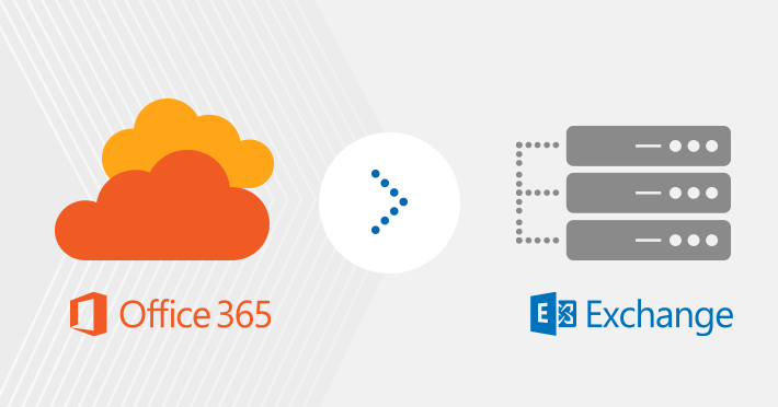 Migrate from Office 365 back to on-premises Exchange