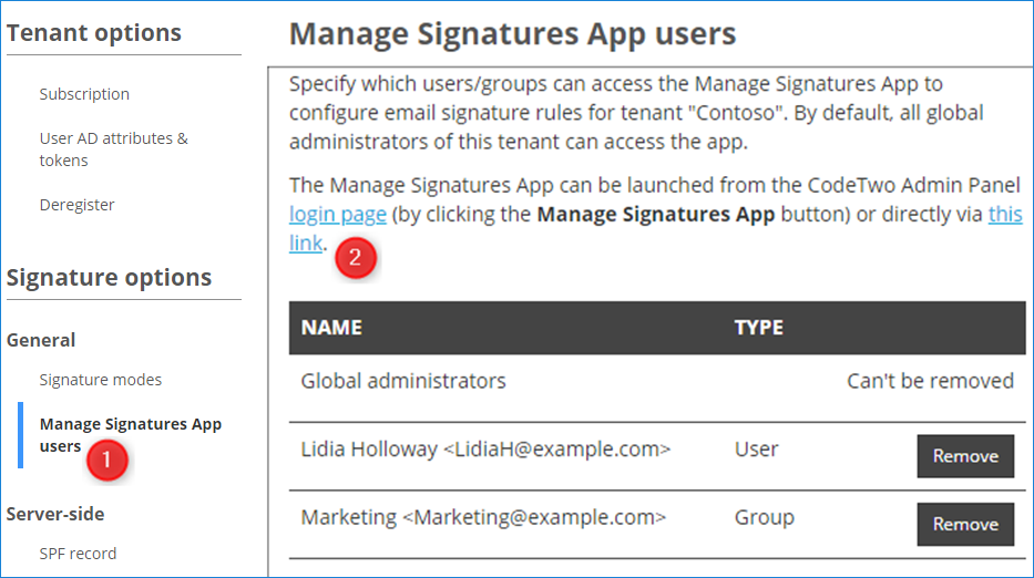 How to set up different email signatures for shared mailbox and user mailbox in Office 365 2