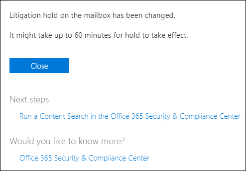 How to archive former employees' mailboxes in Office 365?