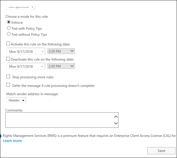 Add email signatures in Exchange 2019 4