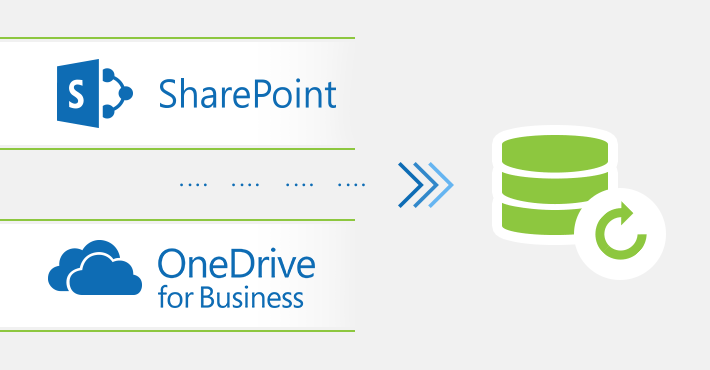How to back up SharePoint Online and OneDrive for Business
