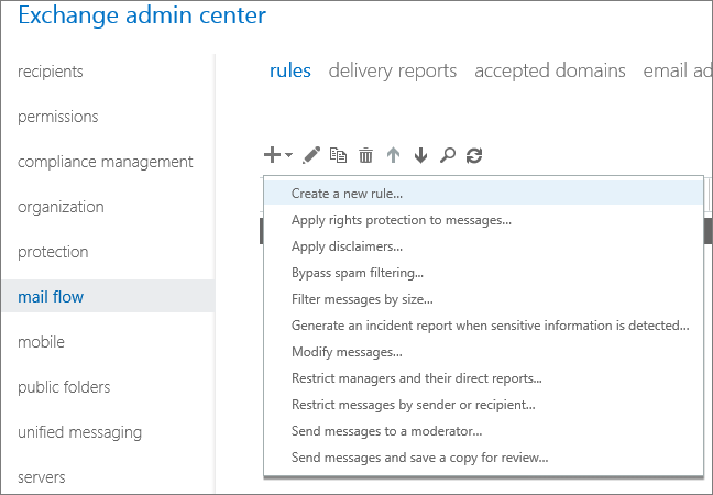 Email forwarding on Exchange Server 2013/2016/2019