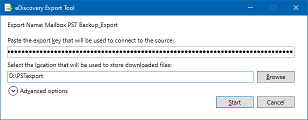 How to export Office 365 mailboxes to PST