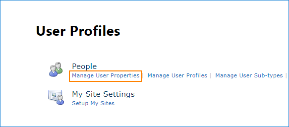 SharePoint Online - manage user profiles