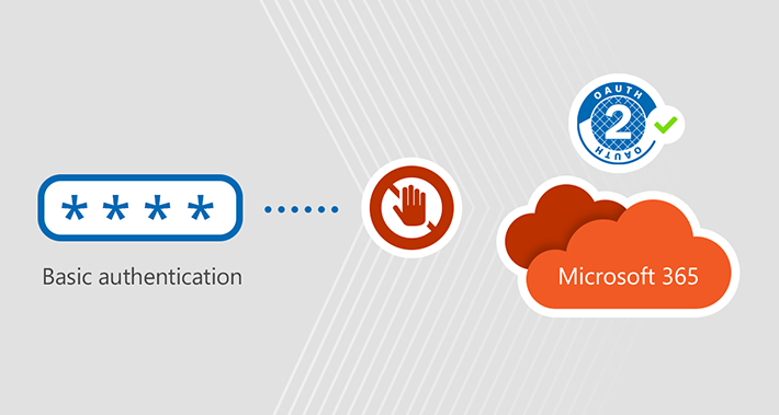 Disable basic authentication office 365