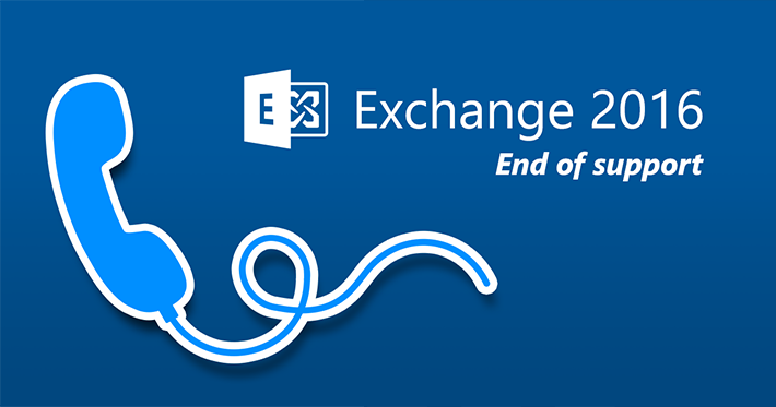 Exchange 2016 end of mainstream support