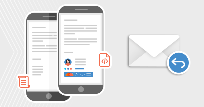How to reply to plain text email in HTML format