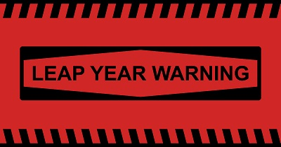 Leap Year Warning