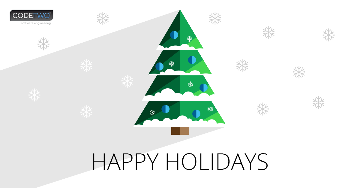 Happy Holidays from CodeTwo