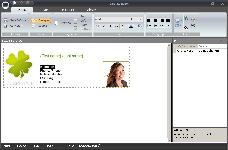 The quickest way to make professional email signatures for all ...