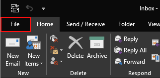 How to remove an email account in Outlook 2019, 2016, 2013 or 2010