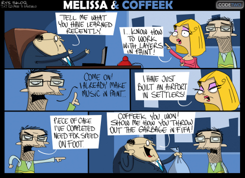 Melissa & Coffeek episode 12