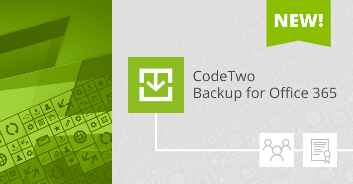 CodeTwo Backup new licensing blog