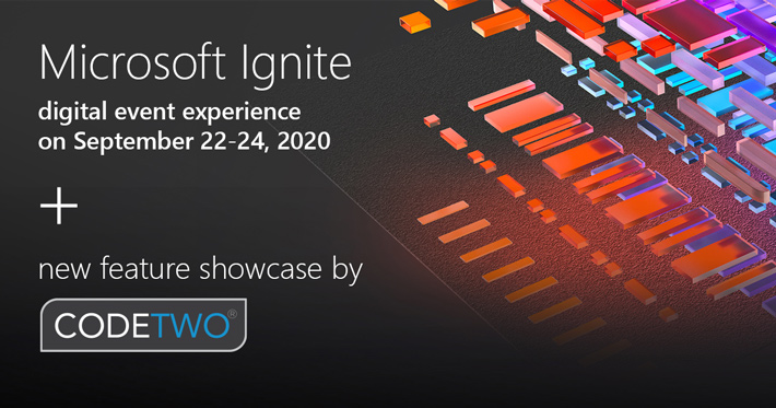 CodeTwo at Microsoft Ignite 2020