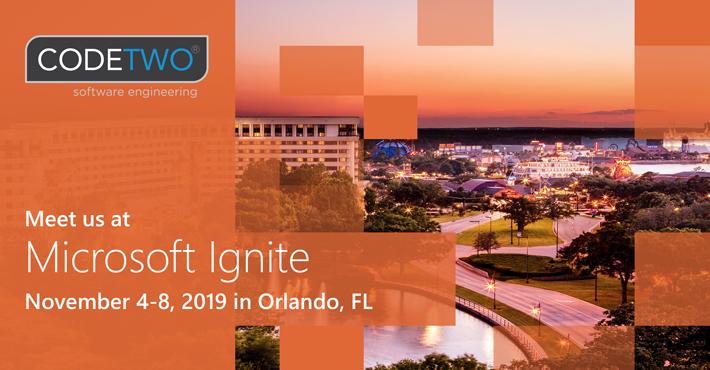 CodeTwo_At_MS_Ignite-Orlando_2019